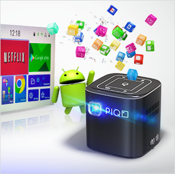 PIQO 1080p Pocket Projector