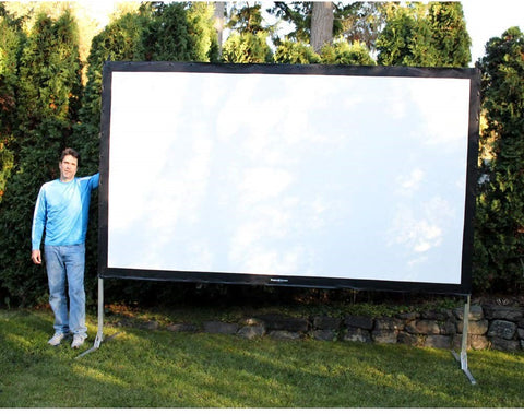 Visual Apex Portable Projector Screen