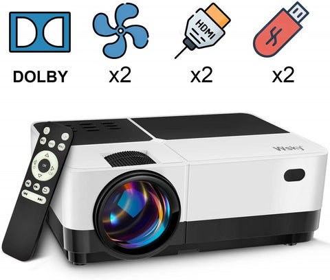 Wsky 1080p Portable Video Projector