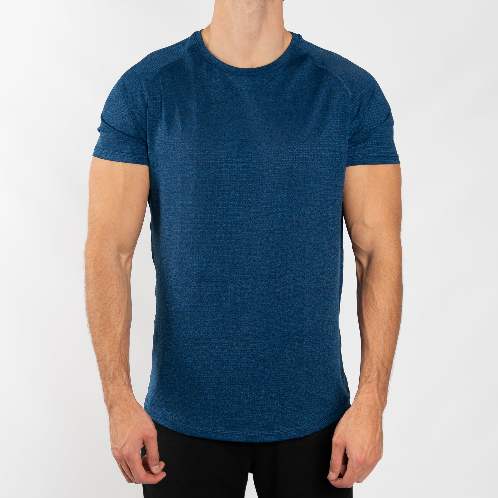 Men's Performance Tee in Blue - Southern Athletica