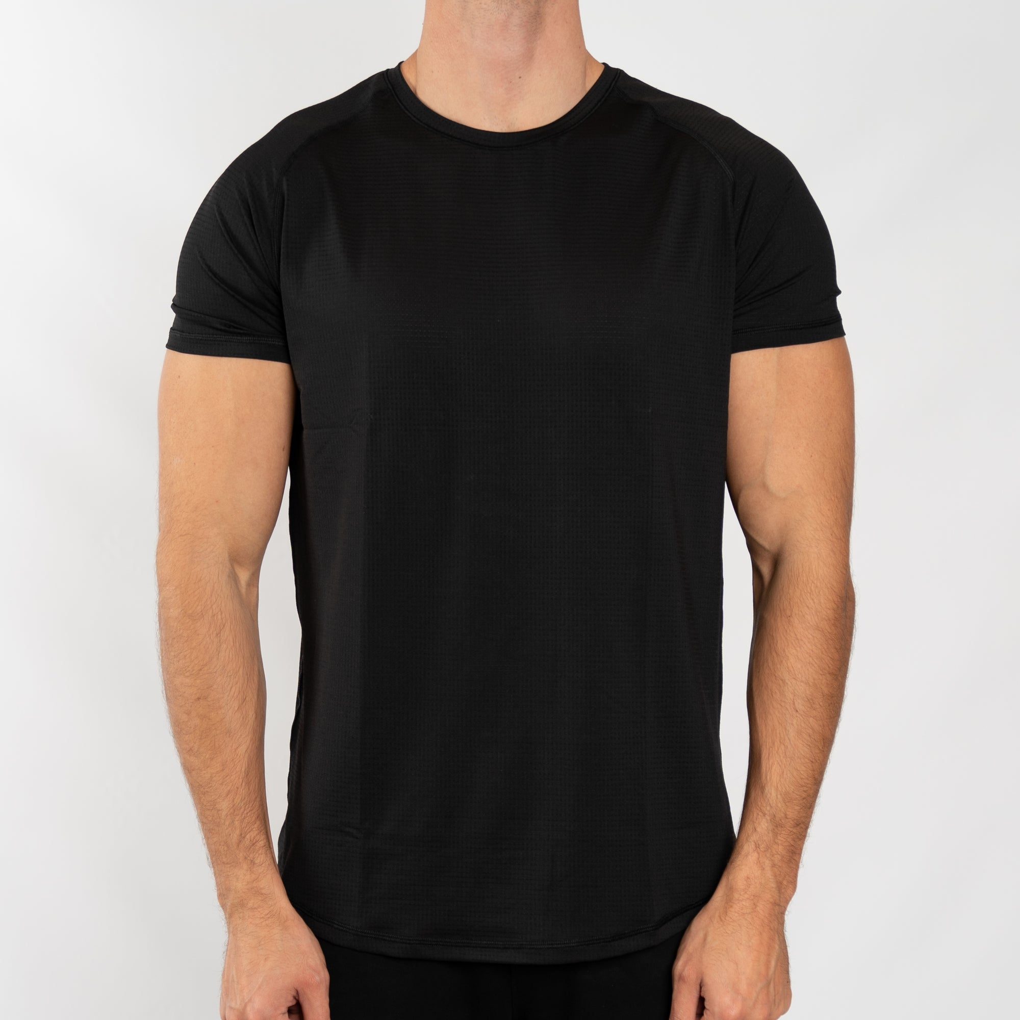 Men's Performance Tee in Black - Southern Athletica