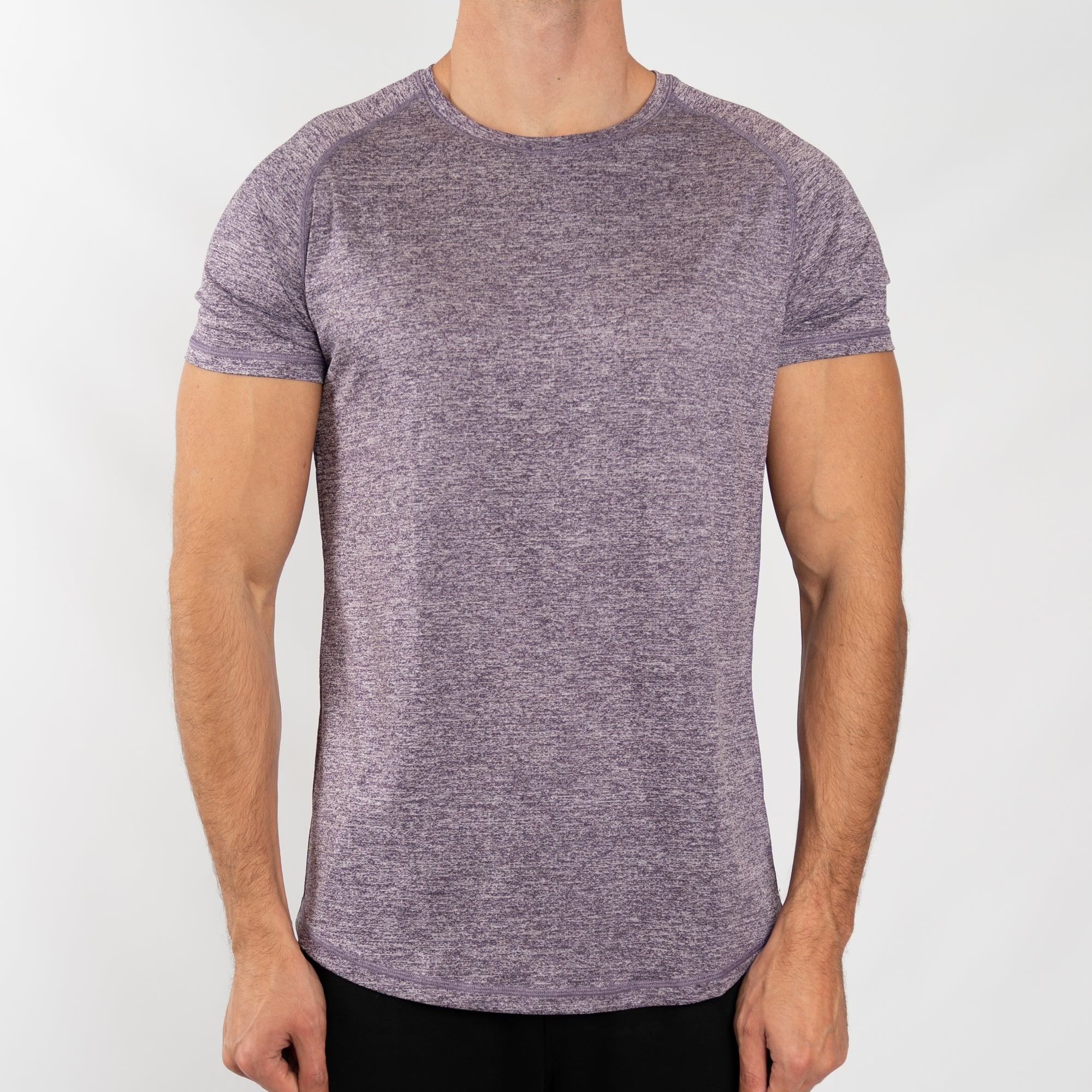 Men's Performance Tee in Purple - Southern Athletica