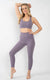 Aspire Leggings 7/8 in Purple Ash