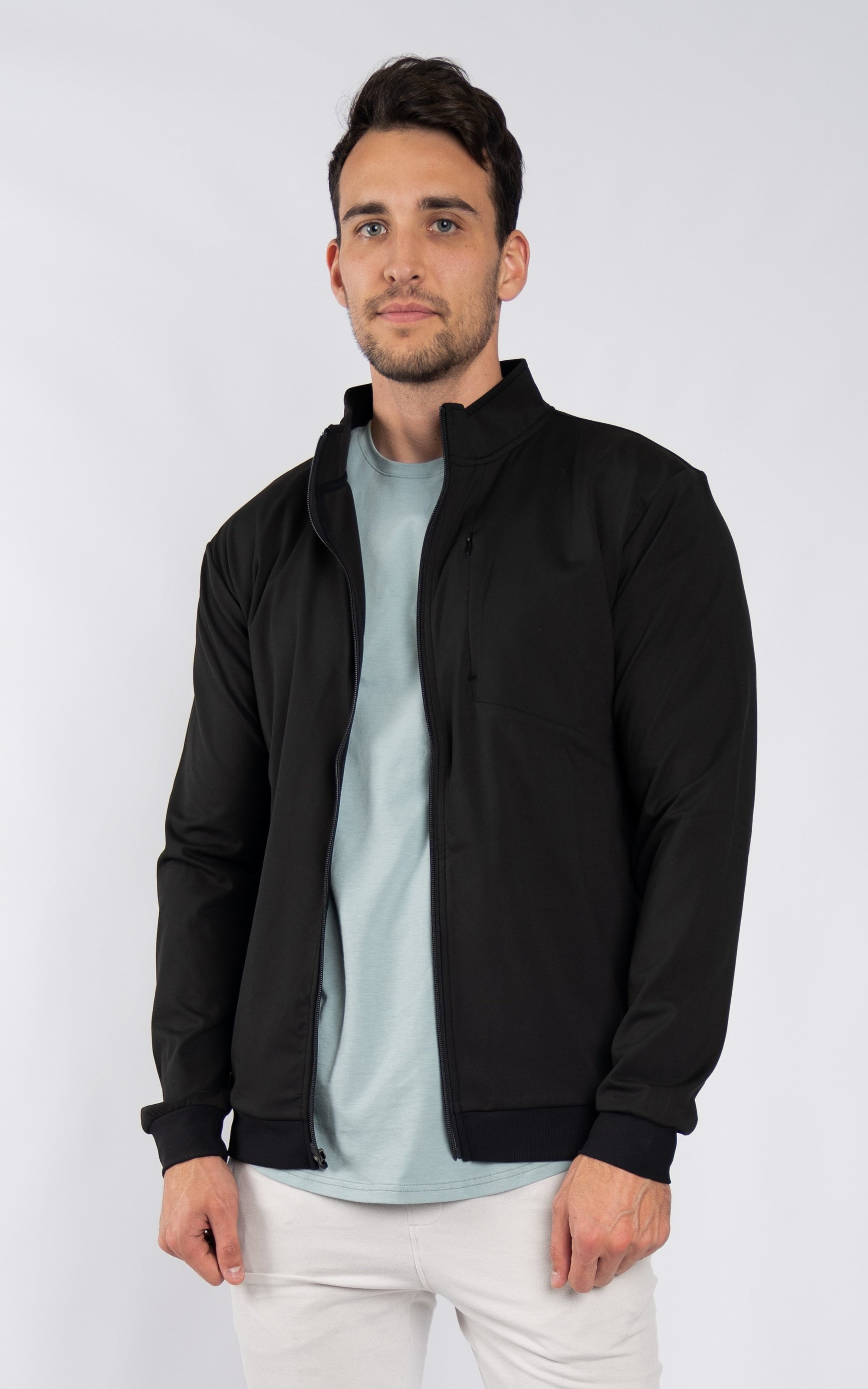 Men's Active Jacket in Black - Southern Athletica