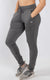 Women's Premium Joggers in Charcoal Gray