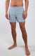 "Coastal Crossover Swim Shorts 5.5"" in Blue Fog - Southern Athletica"