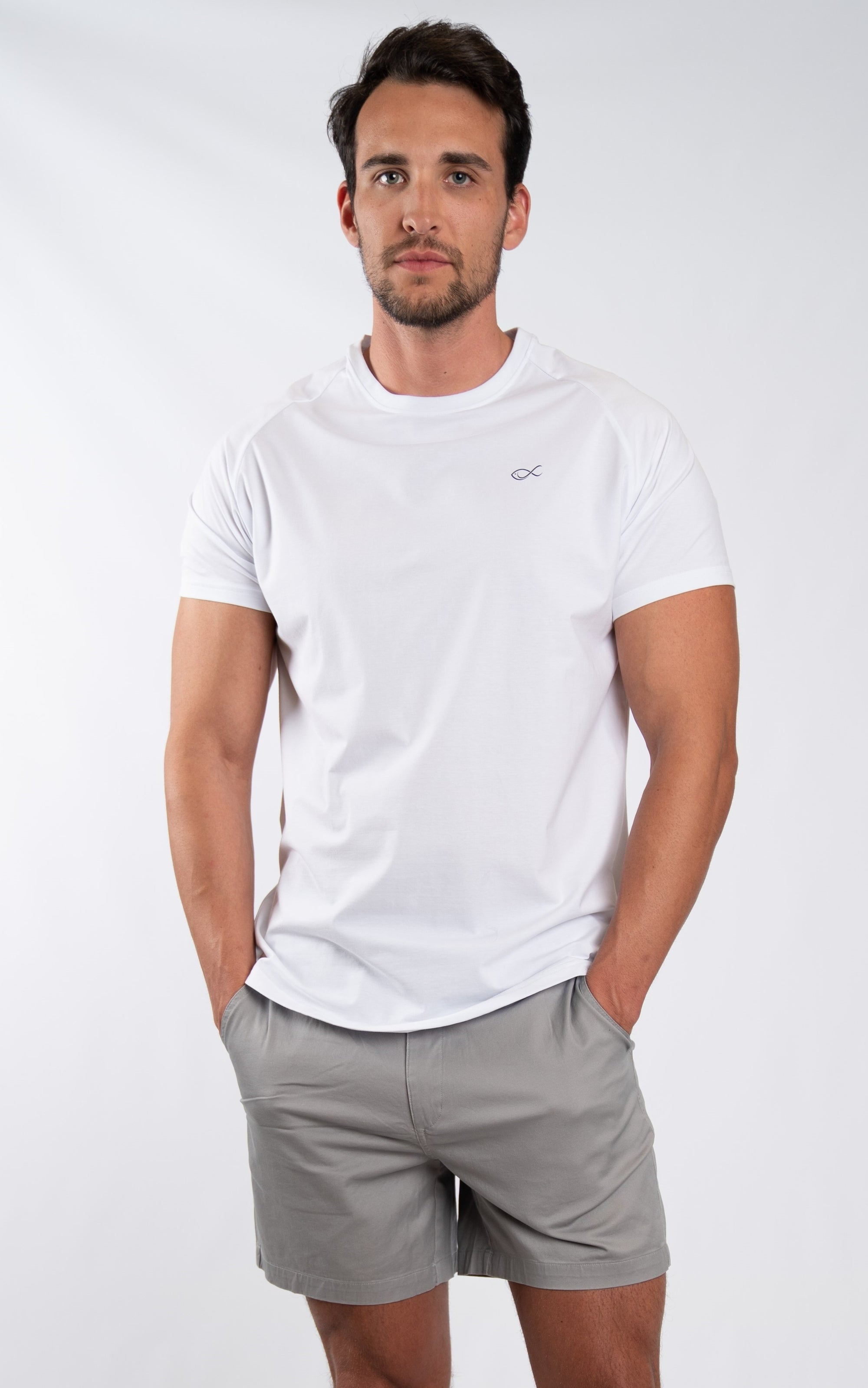 Men's Comfort Tee in White - Southern Athletica
