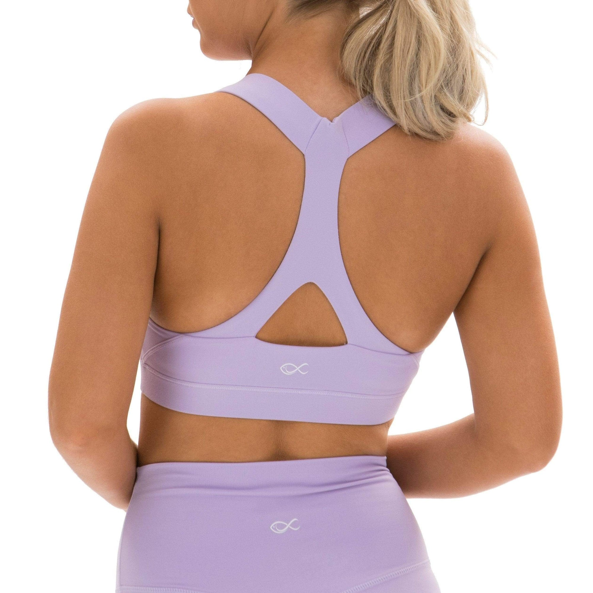 Y-Not Bra in Purple Rose - Southern Athletica