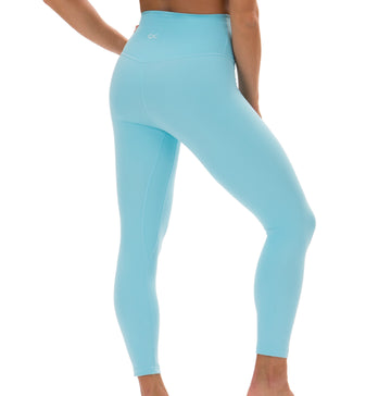 Bliss Leggings in Blue Topaz - Southern Athletica