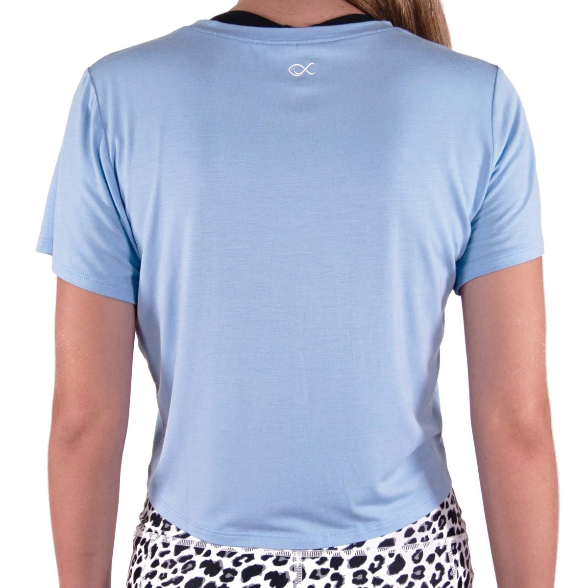 Luv Crop in Blue Bell - Southern Athletica