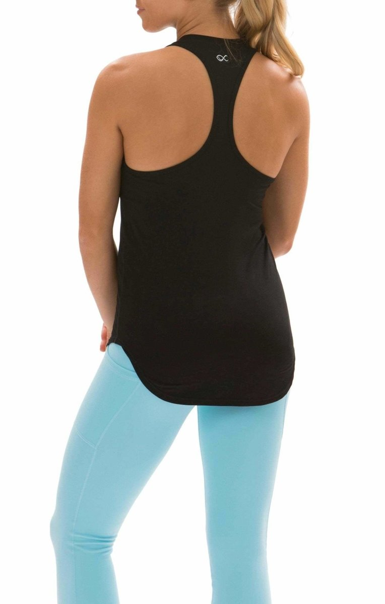 Performance Tank in Black - Southern Athletica