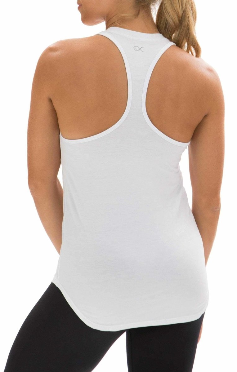 Performance Tank in White - Southern Athletica