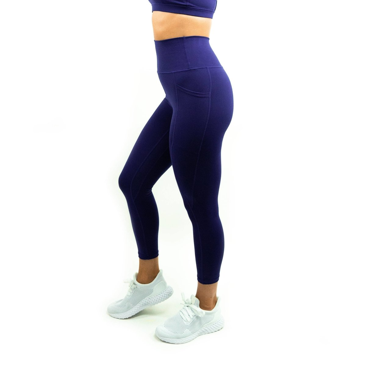 Pocket Leggings in Blueprint - Southern Athletica