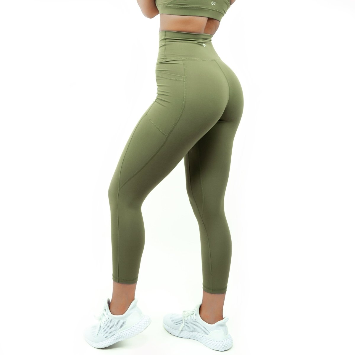 Pocket Leggings in Capulet Olive - Southern Athletica