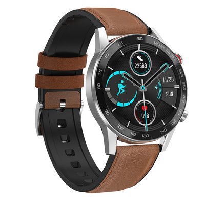 XT95 BT CALLS IP67 LEATHER BROWN
