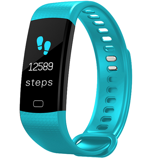 XB Fitness Tracker Light Blue
