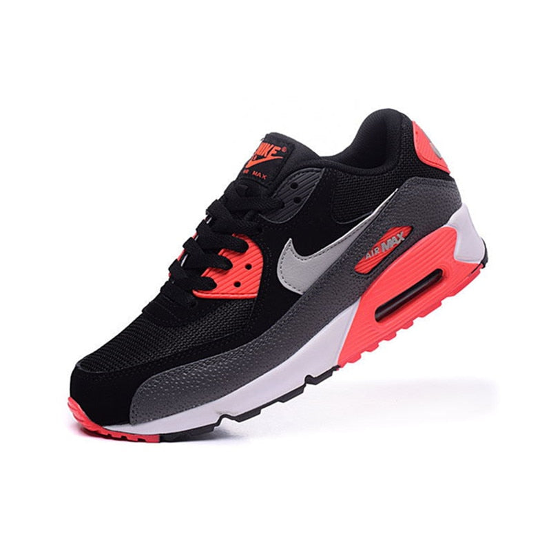 on sale eec89 148c3 Original New Arrival Authentic NIKE Men s AIR MAX 90 ESSENTIAL Running  Shoes Sport Outdoor Sneakers Good