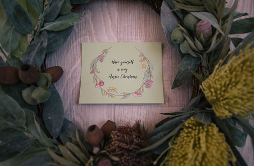 Australian Christmas Cards - Individual
