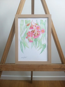 Gum Blossom Painting