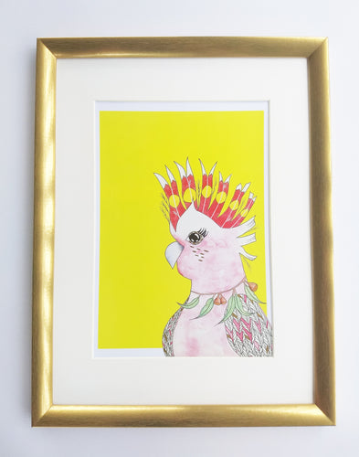 Major Mitchell Cockatoo Print