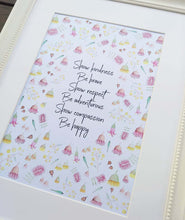 Load image into Gallery viewer, Floral Quote Print