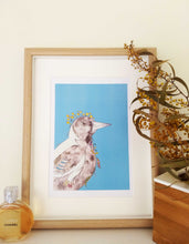 Load image into Gallery viewer, Magpie art print