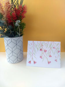 Gum Blossom greeting card