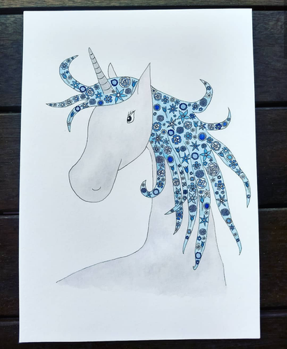 Unicorn Digital Download Image