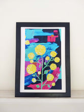 Load image into Gallery viewer, Wattle by Night Abstract Art Print