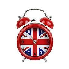 UNION JACK TRAVEL ALARM CLOCK