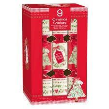 Christmas Crackers Traditional Crackers 9 Pack
