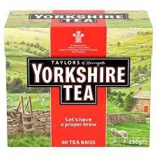Taylors Yorkshire Teabags 80s