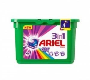 Ariel Lq Cap 3 in 1 Colour 19w