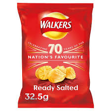 Walkers Ready Salted Crisps
