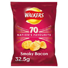 Walkers Smoky Bacon