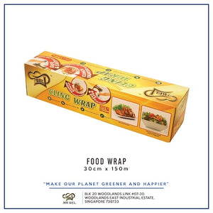 30 x 150cm Food Safe Cling Wrap For Home Use | FDA Approved