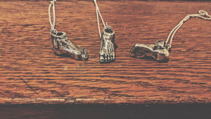 SEVERED FOOT NECKLACE