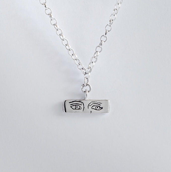 The sad t-bar necklace