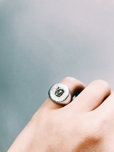 Sun Man signet ring