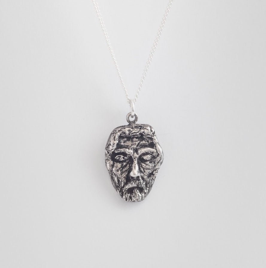 Silent Man necklace
