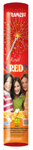 Royal Red Tube 15 cm Sparklers