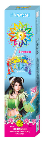 Beautique Crackling 10 cm Sparklers (Set of 5 Boxes)