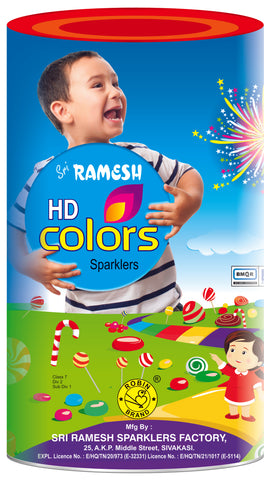 HD Colour Collections - 10 cm Sparklers