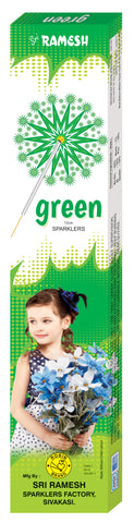 Green 12 cm Sparklers (Set of 5 Boxes)
