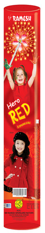Hero Red Tube 30 cm Sparklers