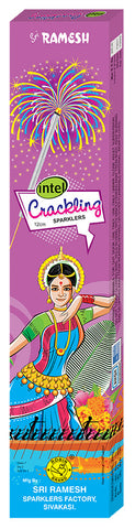 Intel Crackling 12 cm Sparklers (Set of 5 Boxes)