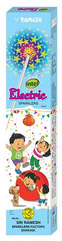 Intel Electric 12 cm Sparklers (Set of 5 Boxes)