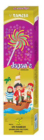 Japans 10 cm Sparklers (Set of 5 Boxes)