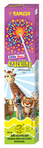 Little Boss Crackling 07 cm Sparklers (Set of 10 Boxes)