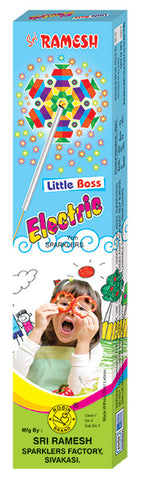 Little Boss Electric 07 cm Sparklers (Set of 10 Boxes)